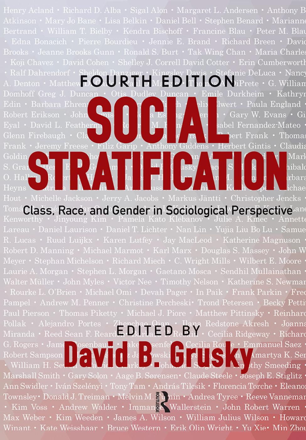 Social Stratification Racial Stratification