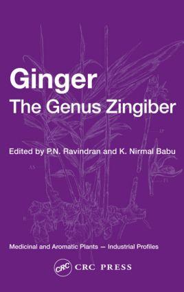 Ginger The Genus Zingiber Taylor Francis Group