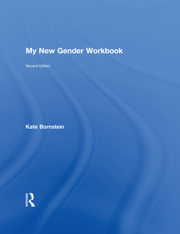 My New Gender Workbook | A Step-by-Step Guide to Achieving