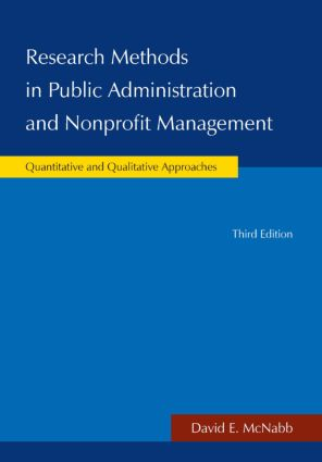 Research Methods in Public Administration and Nonprofit