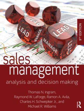 Sales Management Taylor Francis Group