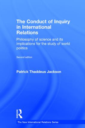The Conduct of Inquiry in International Relations | Philosophy of