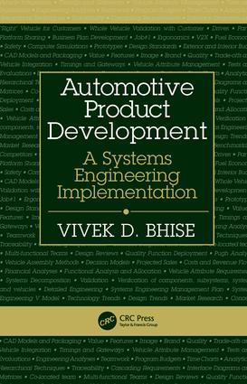 Automotive Product Development Taylor Francis Group
