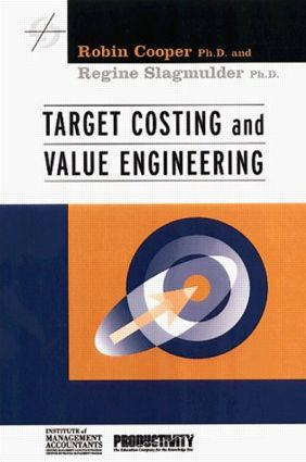 Target Costing And Value Engineering Taylor Francis Group