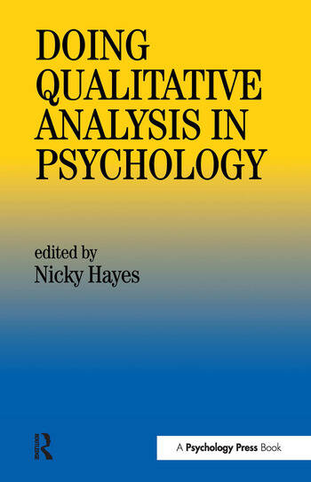 Nicky Hayes Psychology