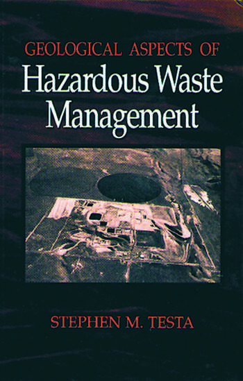 Geological Aspects Of Hazardous Waste Management Crc