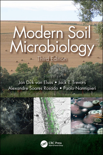 Modern Soil Microbiology, Third Edition book cover