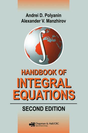 Equation Integral Integral Equations Second