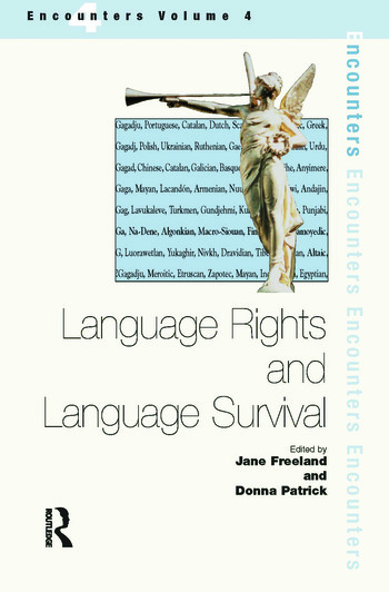 Minority Language Rights Language Rights And Language