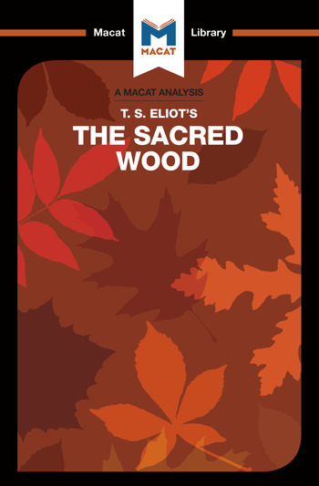"""the sacred wood essay on poetry and criticism Tradition and the individual talent by t s talent"""" was first published in 1919 and soon after included in the sacred wood: essays on poetry and criticism."""