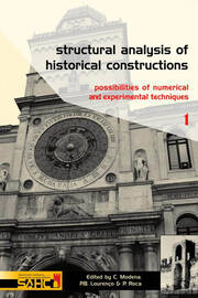 Structural Analysis of Historical Constructions - 2 Volume Set