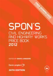 Spon's Civil Engineering and Highway Works Price Book 2012
