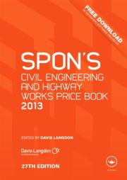 Spon's Civil Engineering and Highway Works Price Book 2013