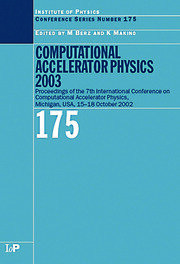 Computational Accelerator Physics 2003