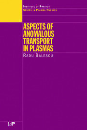 Aspects of Anomalous Transport in Plasmas