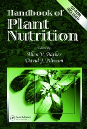 Handbook of Plant Nutrition