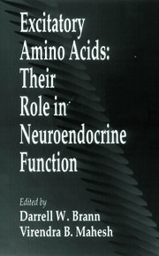 Excitatory Amino AcidsTheir Role in Neuroendocrine Function