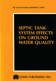 Septic Tank System Effects on Ground Water Quality