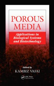 Application of porous media theories in marine biological modeling,