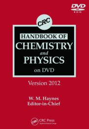 CRC Handbook of Chemistry and Physics on DVD, Version 2012