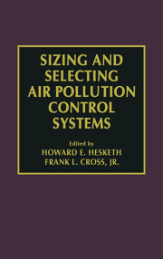 Sizing and Selecting Air Pollution Control Systems