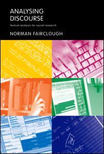 Analysing Discourse Textual Analysis Social 9780415258937.jpg