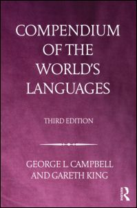 Compendium of the Worlds Languages Jacket