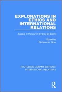 explorations in ethics and international relations essays in this book examines the interaction between the realms of ethics and international relations the essays discuss such issues as the responsibilities of