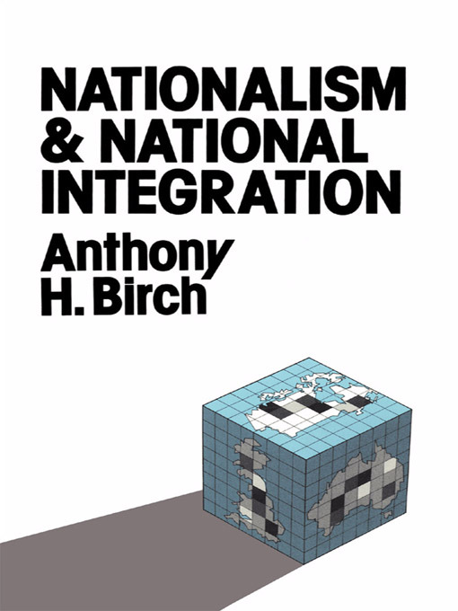 Nationalism and National Integration (Paperback) book cover