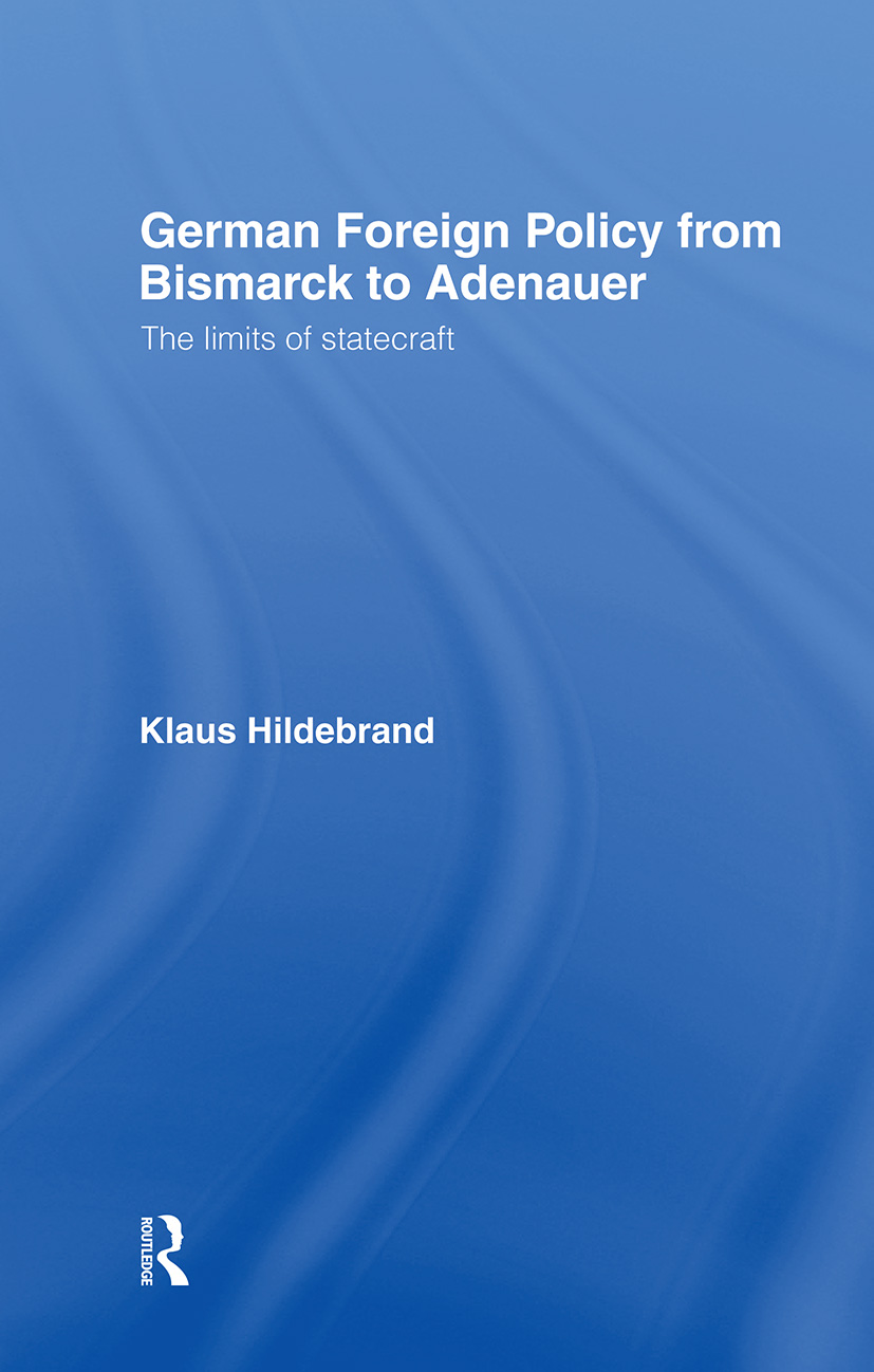 German Foreign Policy: 1st Edition (Hardback) book cover