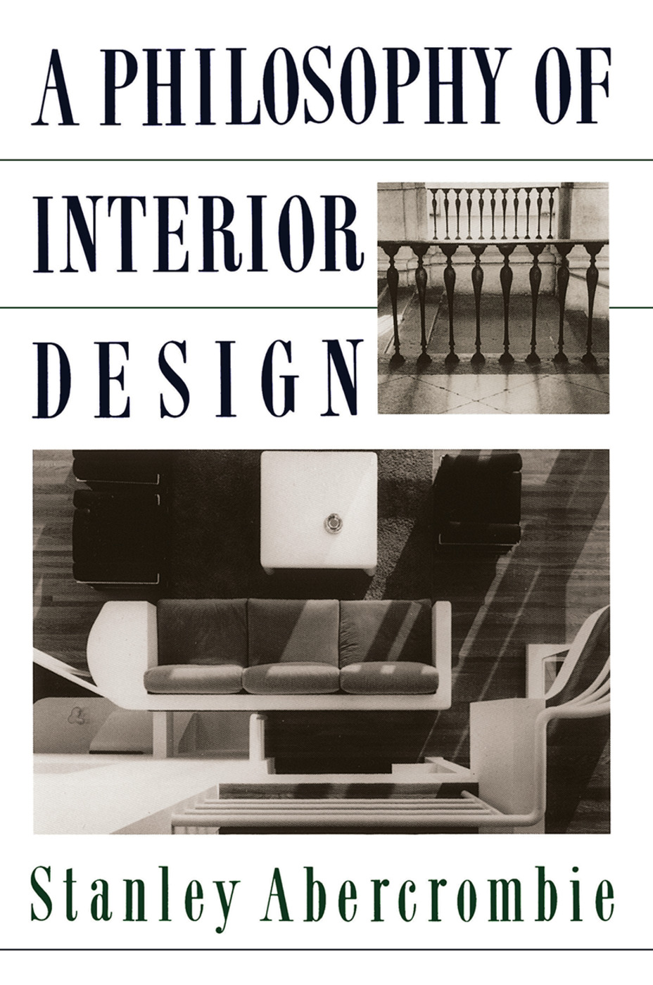 A Philosophy Of Interior Design: 1st Edition (Paperback) book cover