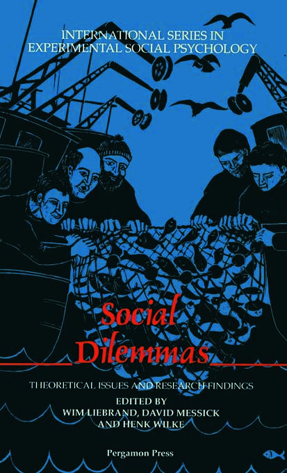 Social Dilemmas: Theoretical Issues and Research Findings (Hardback) book cover