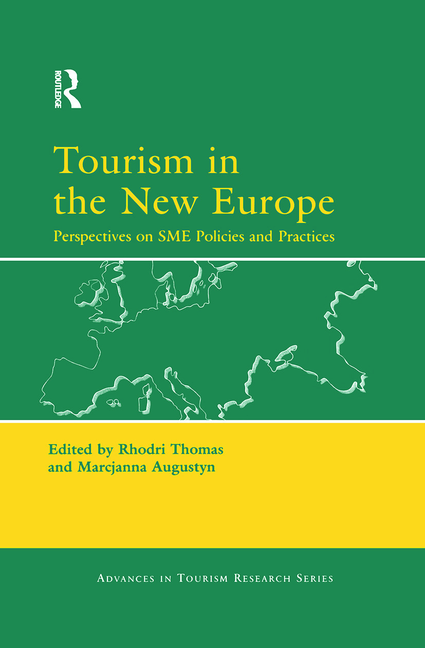 Tourism in the New Europe: 1st Edition (Hardback) book cover
