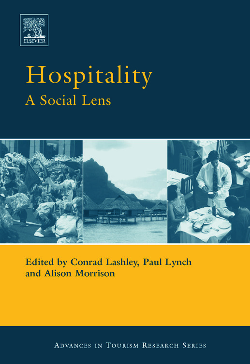 Hospitality book cover