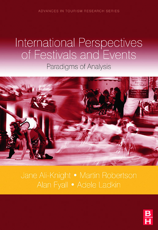 International Perspectives of Festivals and Events: 1st Edition (Hardback) book cover