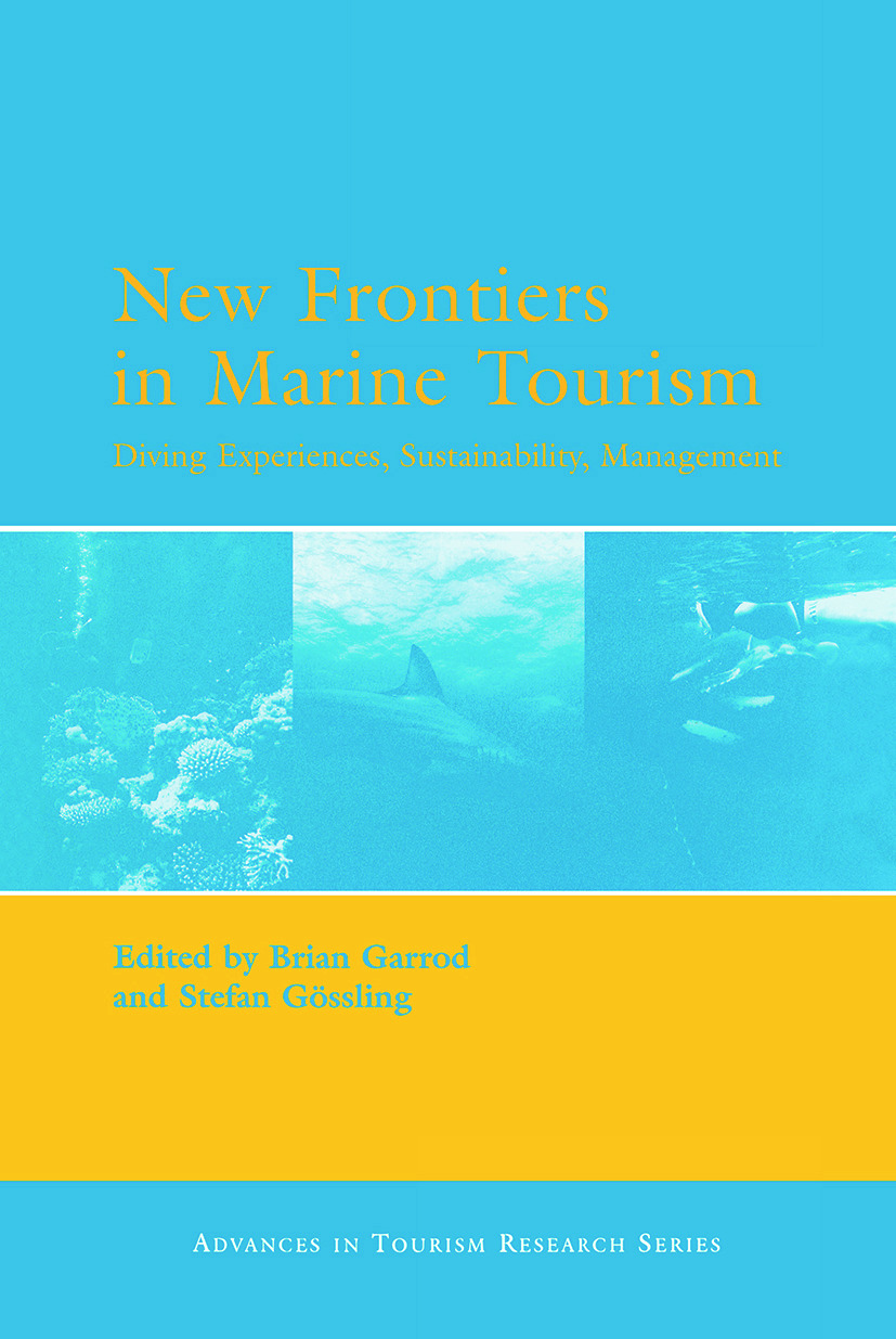 New Frontiers in Marine Tourism (Hardback) book cover