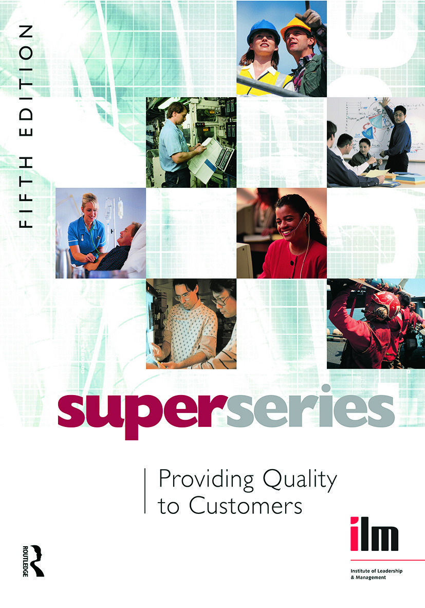 Providing Quality to Customers: 5th Edition (Paperback) book cover