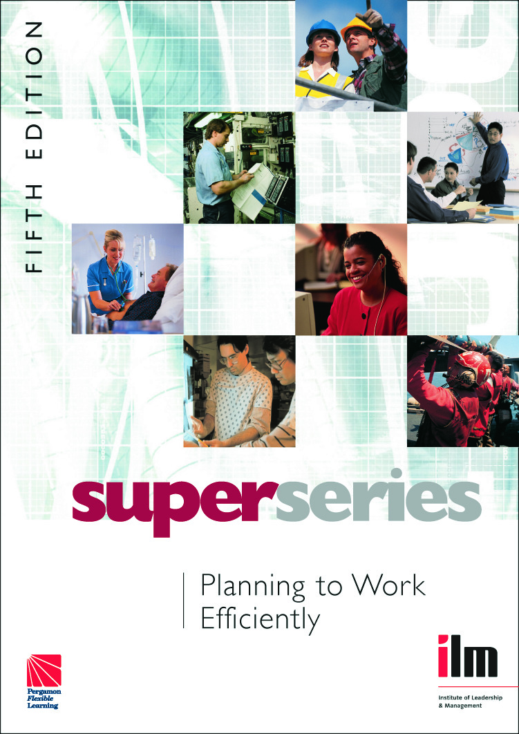 Planning to Work Efficiently: 5th Edition (Paperback) book cover