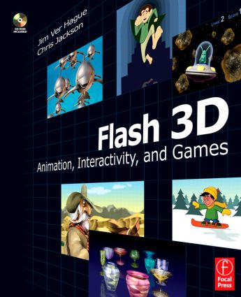 Flash 3D: Animation, Interactivity, and Games book cover