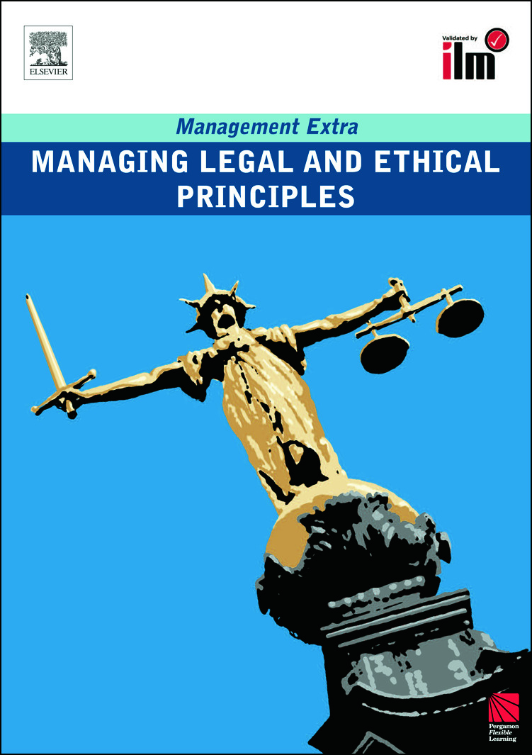 Managing Legal and Ethical Principles: Revised Edition (Paperback) book cover