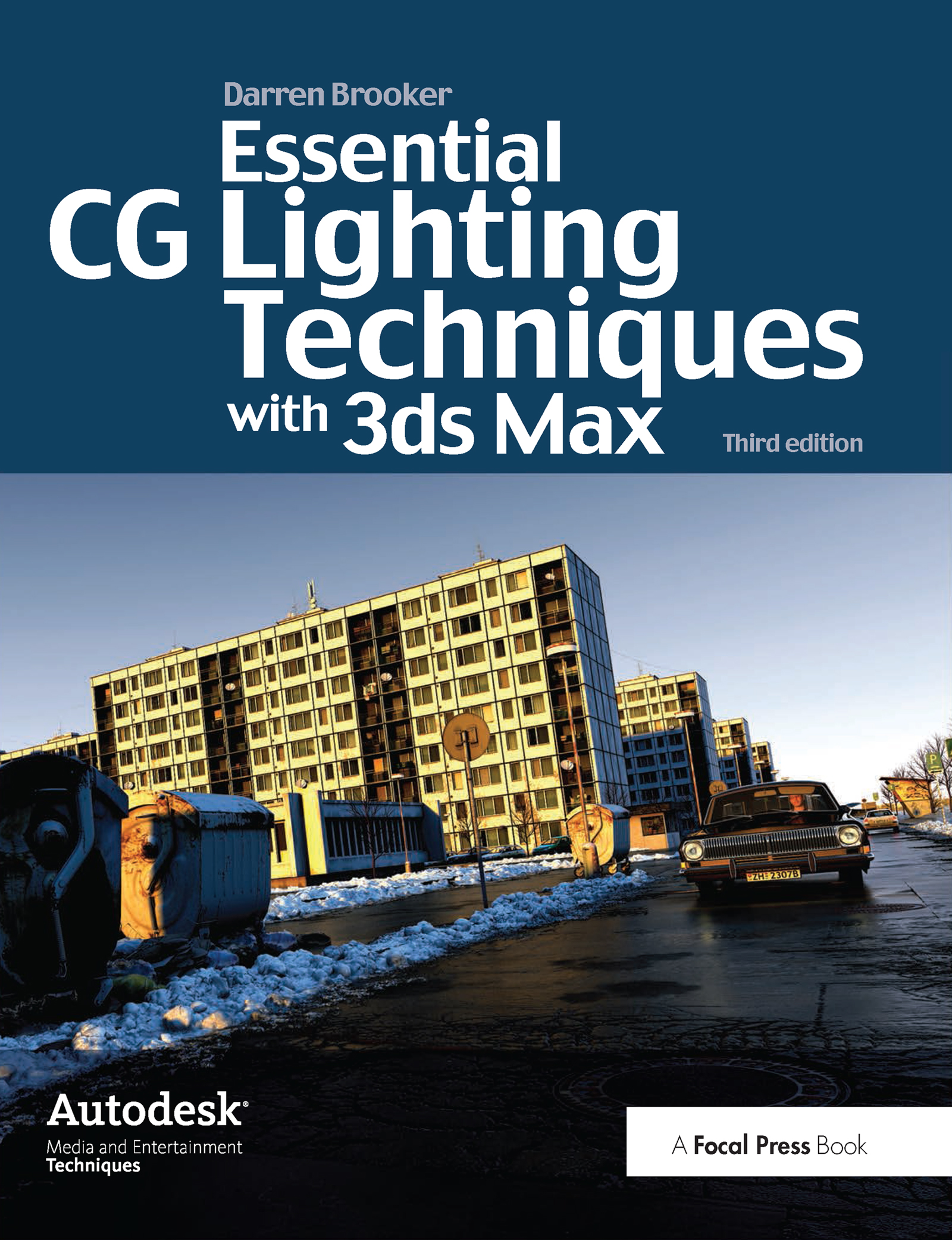 Essential CG Lighting Techniques with 3ds Max book cover
