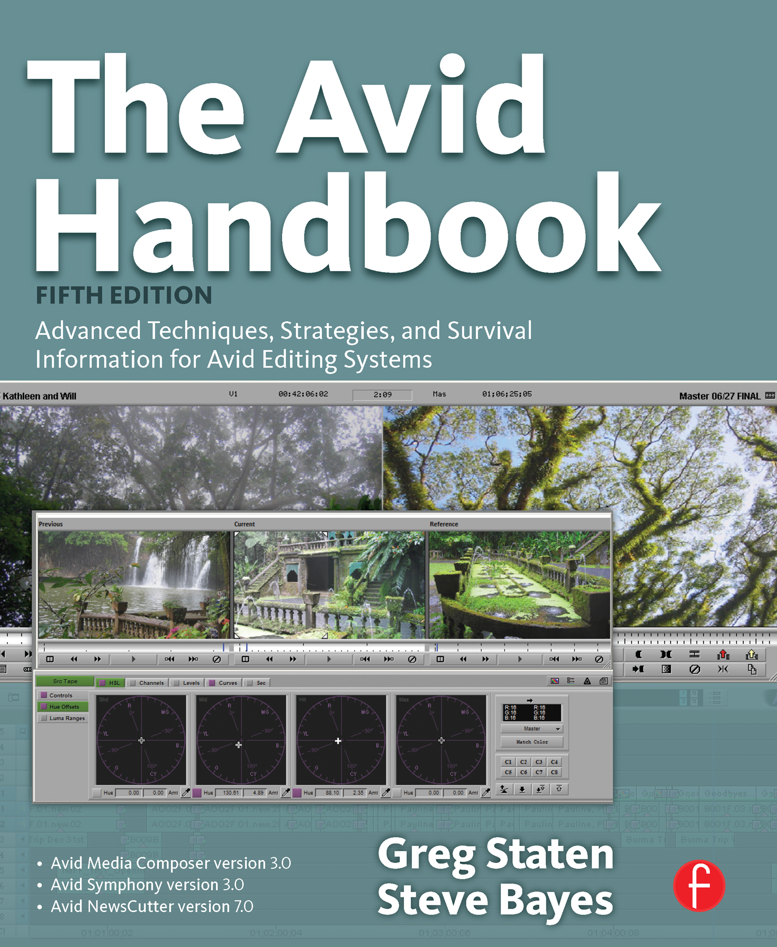 The Avid Handbook: Advanced Techniques, Strategies, and Survival Information for Avid Editing Systems book cover