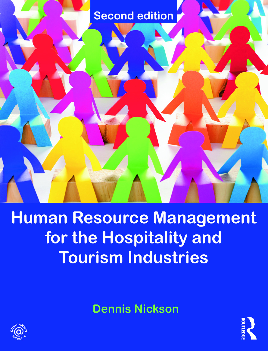 Human Resource Management for the Hospitality and Tourism Industries: 2nd Edition (Paperback) book cover