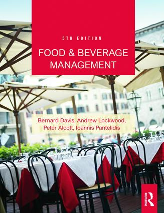 Food and Beverage Management: 5th Edition (Paperback) book cover