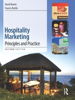 Hospitality Marketing: 2nd Edition (Paperback) book cover