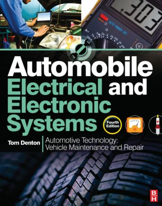 Automobile Electrical and Electronic Systems, 4th ed: 4th Edition (Paperback) book cover