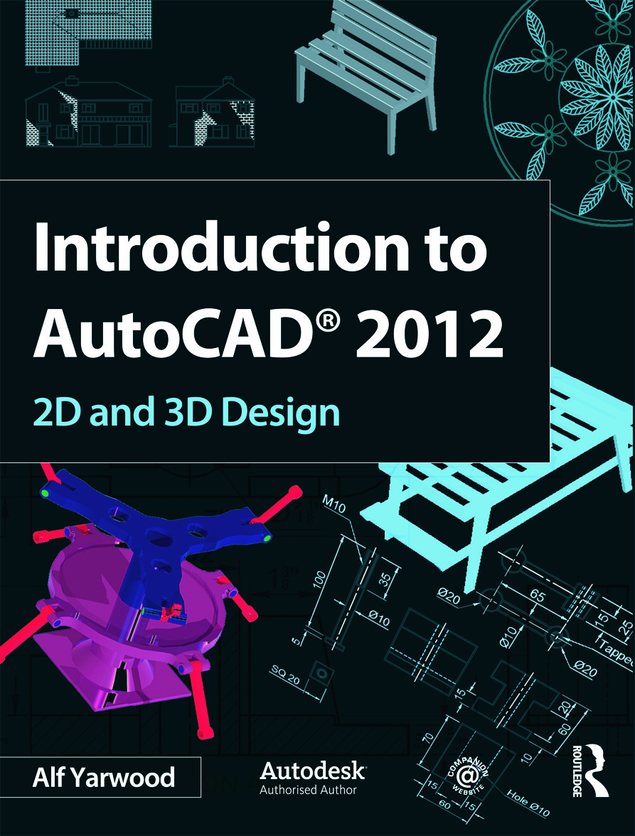 Introduction to AutoCAD 2012 (Paperback) book cover