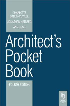 Architect's Pocket Book 4E: 4th Edition (Paperback) book cover