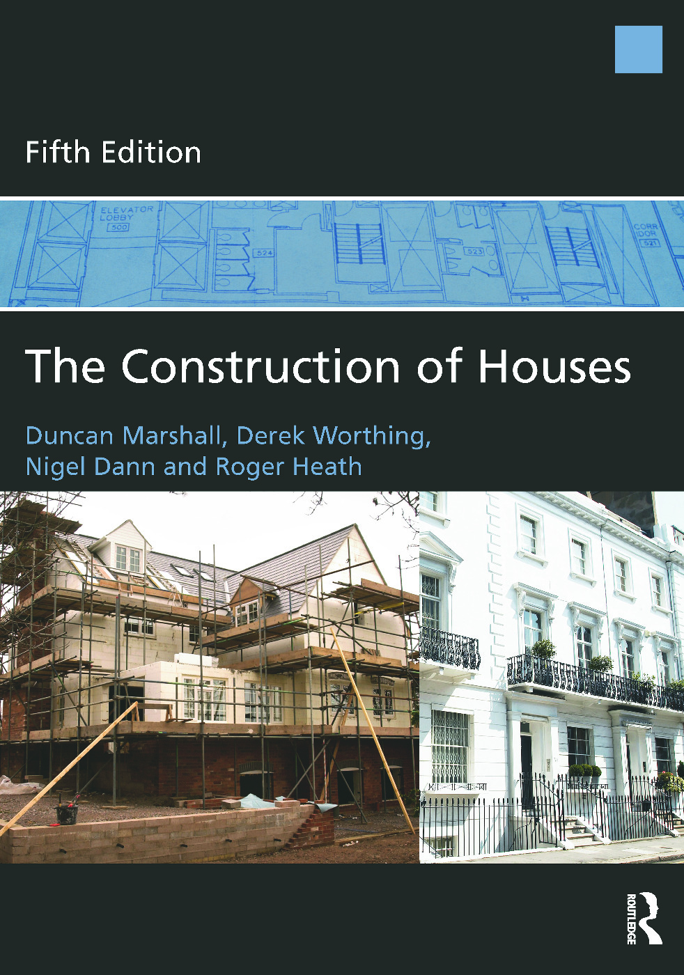 The Construction of Houses: 5th Edition (Paperback) book cover