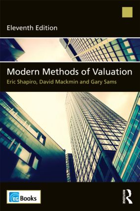 Modern Methods of Valuation: 11th Edition (Paperback) book cover